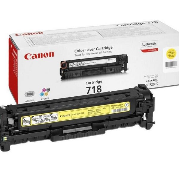 Картридж Canon-718Y